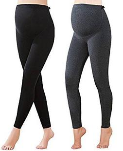 Foucome 2 Pack Women's Over The Belly Super Soft Support Mat