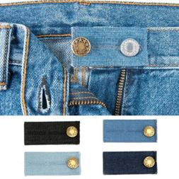 4/8 PCS Denim Waist Extender Button Metal for Jeans Pants Sk