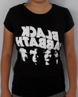 BLACK SABBATH METAL ROCK T SHIRT WOMEN'S SIZES