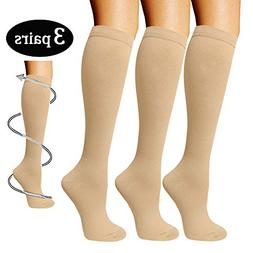 Compression Socks 3 Pairs For Women & Men-Best Compression S