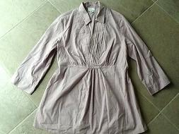 Motherhood Maternity Dress Shirt, Size M, NWOT