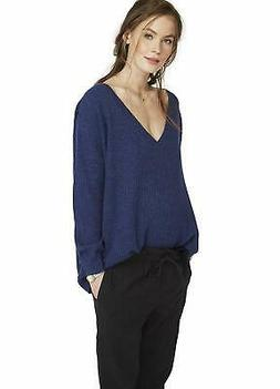 Hatch INDIGO Maternity Easy Sweater, Size 0