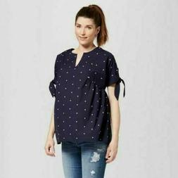 Isabel Maternity by Target Ingrid & Isabel Medium top navy b