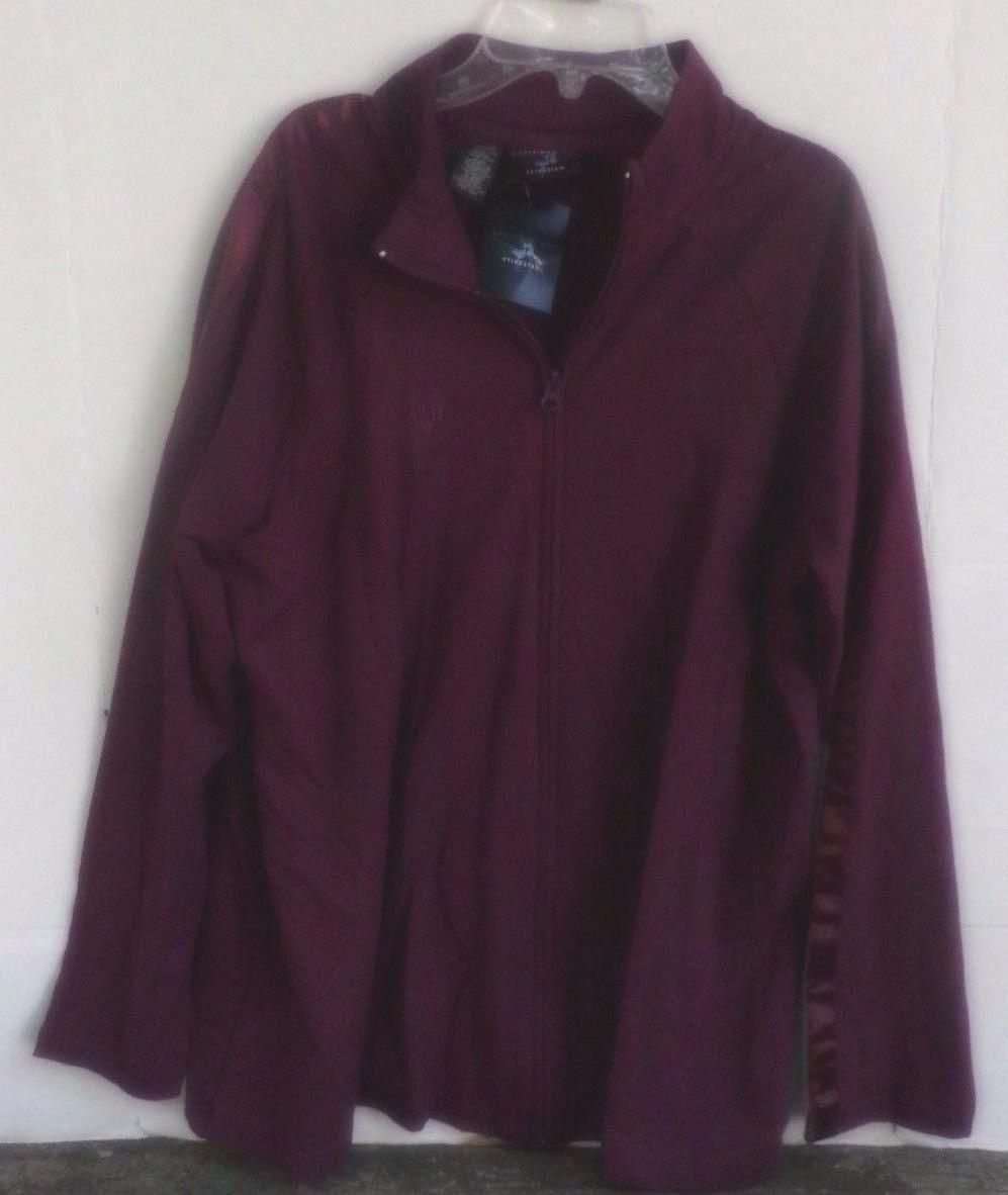 New Additions Maternity zip up jacket-purple-large-NWT-new w