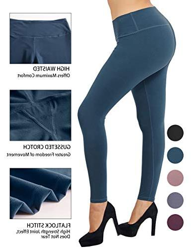 buttery soft yoga waist solid