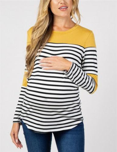 Tops Splice Pregnancy Tops Tee