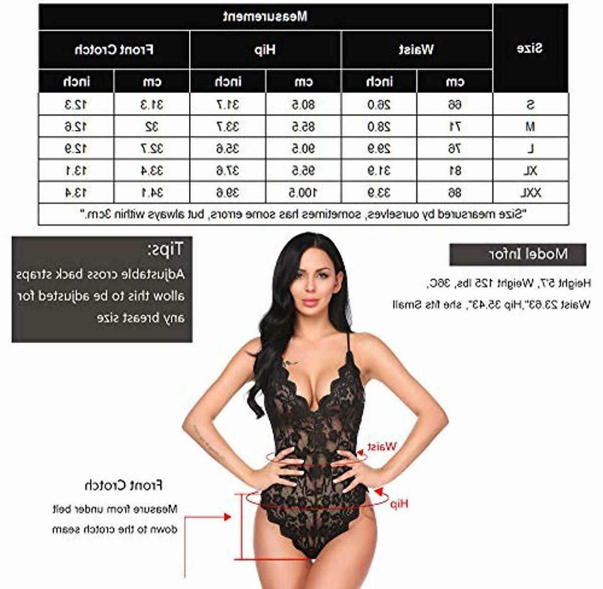 Clothing Women Teddy One Babydoll Bodysuit