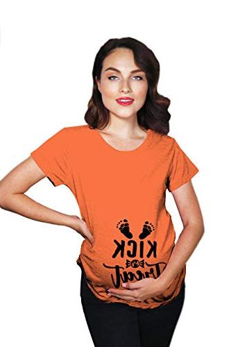 crazy dog t shirts maternity kick or