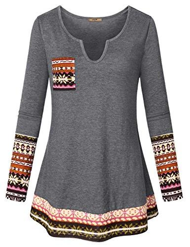 dressy shirts for women girls long sleeve