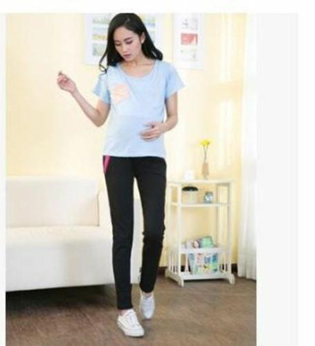 Elastic Waist Leisure trousers For