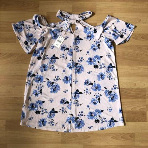 floral ruffled halter maternity top blouse size