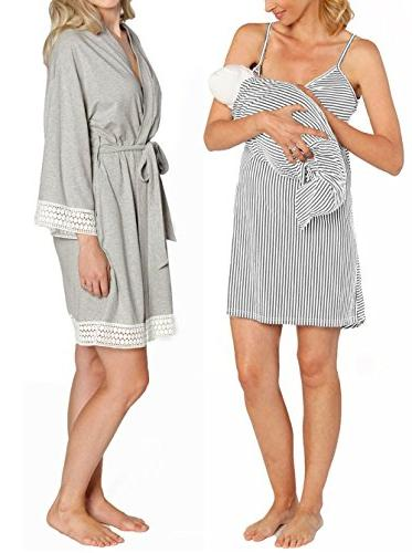 hospital nursing dress robe