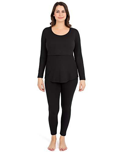 jane maternity nursing thermal pajamas