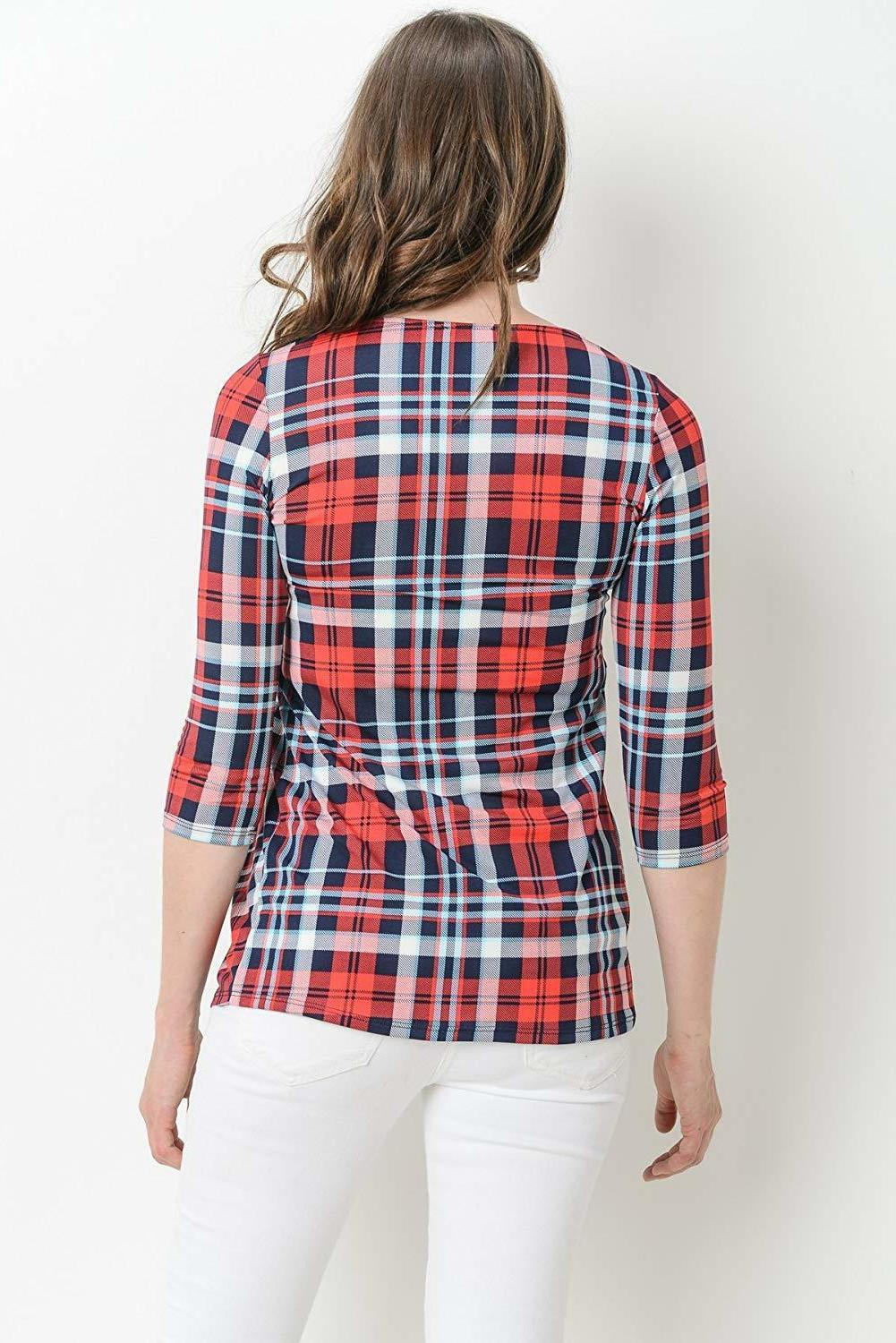 LaClef 3/4 Front Peplum