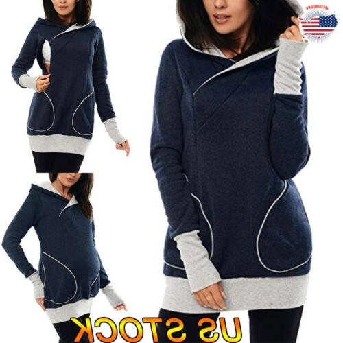 ladies pregnant maternity clothes women tops breastfeeding