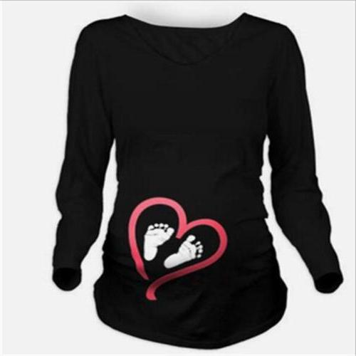 Lady Maternity Sleeve T-Shirt D