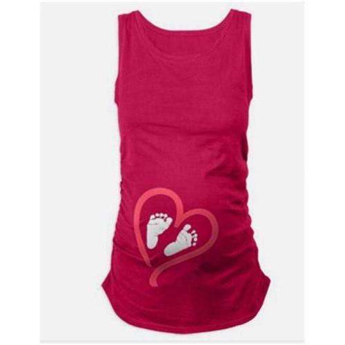 Lady Maternity Sleeve Baby T-Shirt D