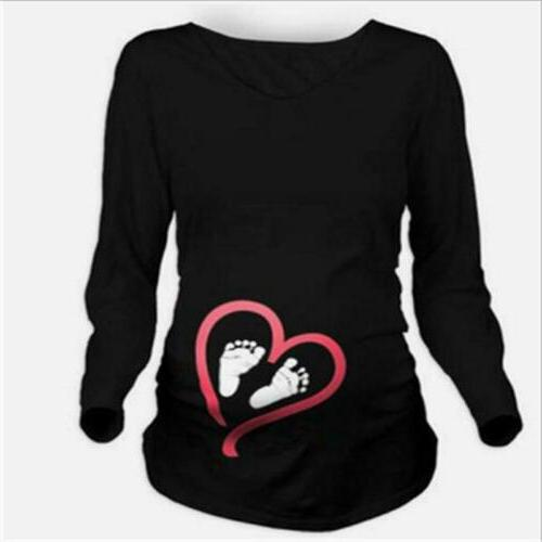 Lady Sleeve Baby Foot T-Shirt