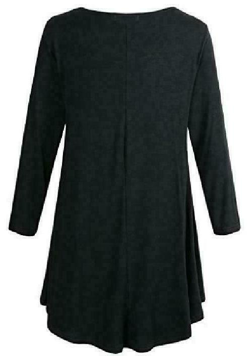 Tunic Top Loose Flare T-Shirt