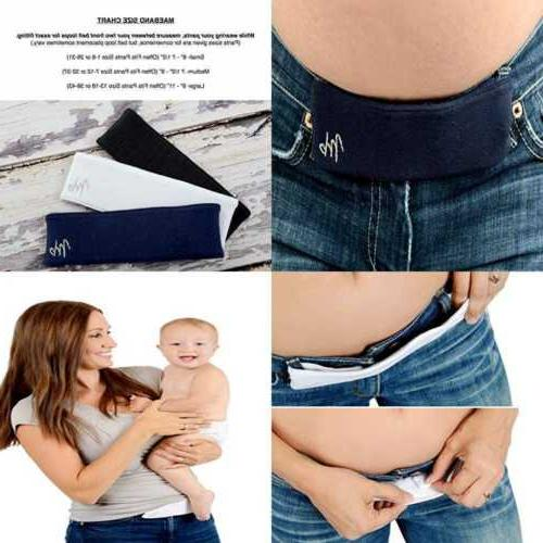 large midnight black womens baby product