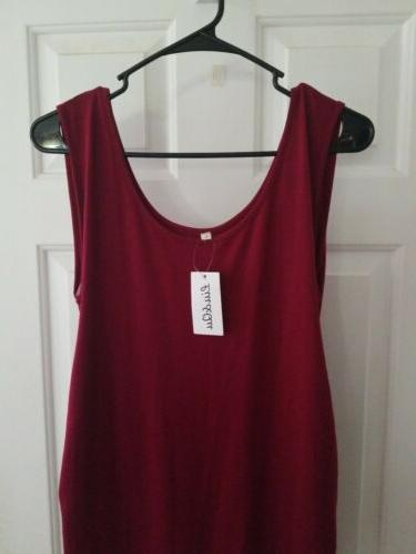 Liu Red Dress Sleeveless Ruched New