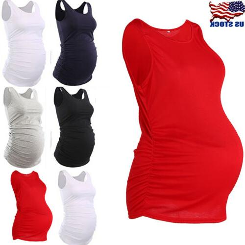 mama women maternity tank top pregnancy tee