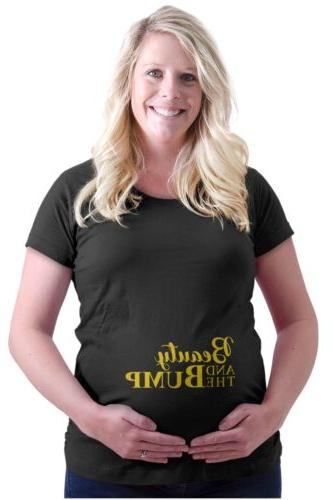 maternity clothes beauty and bump funny cool