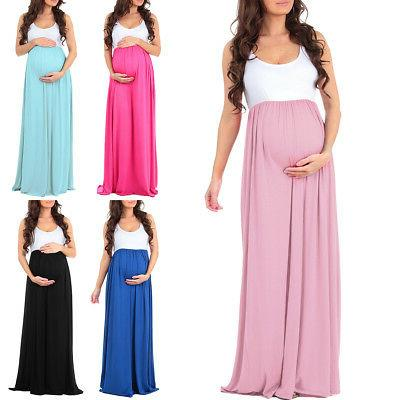 maternity clothes pregnancy wedding dress women evening