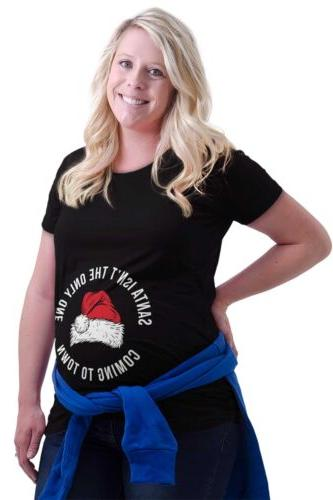 maternity clothes santa only one coming town