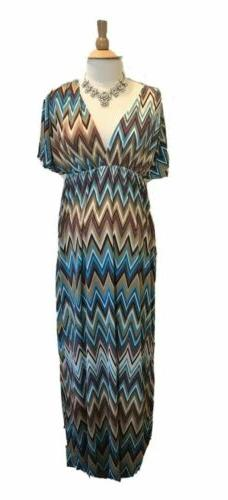 Everly Grey Maternity Multi-Color Striped Dress size XS NWT
