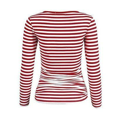 Maternity Striped Tops Pregnant Tees