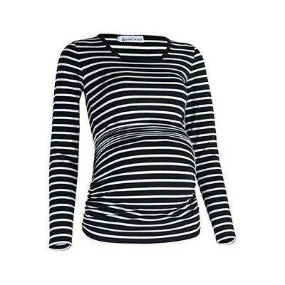 Maternity Striped Pregnant Tees Maternity