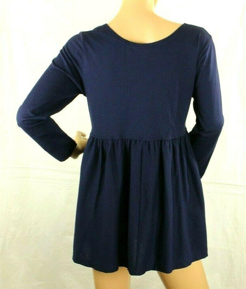 Express Top Blue Size S
