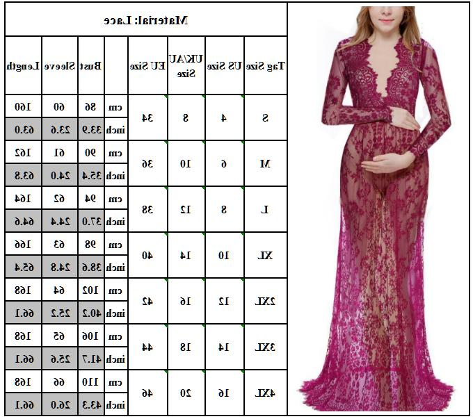 Pregnant Maternity Dress Maxi Gown Photography Dresses