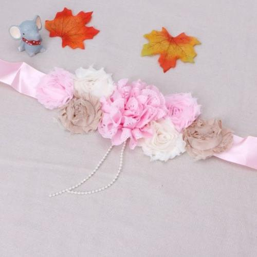 Maternity Shooting Flower Photography Props Waistband
