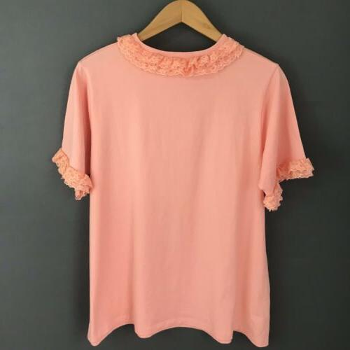 Asos Coral Pink Blouse NWT