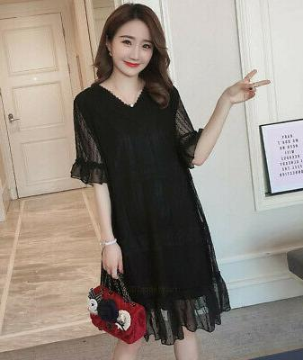 Maternity Clothes Casual Short Lace Pregnancy