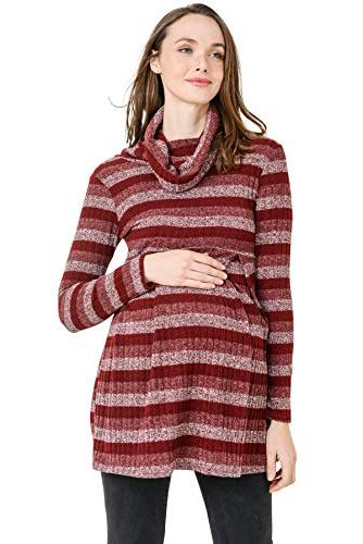 maternity sweater knit