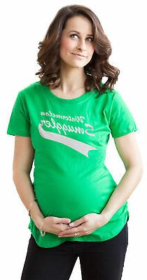 Maternity Watermelon Smuggler Shirt Funny Pregnancy T shirts