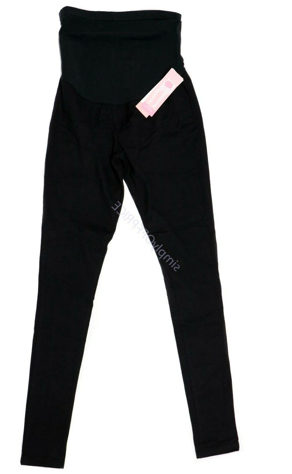 new maternity clothes leggings black over belly