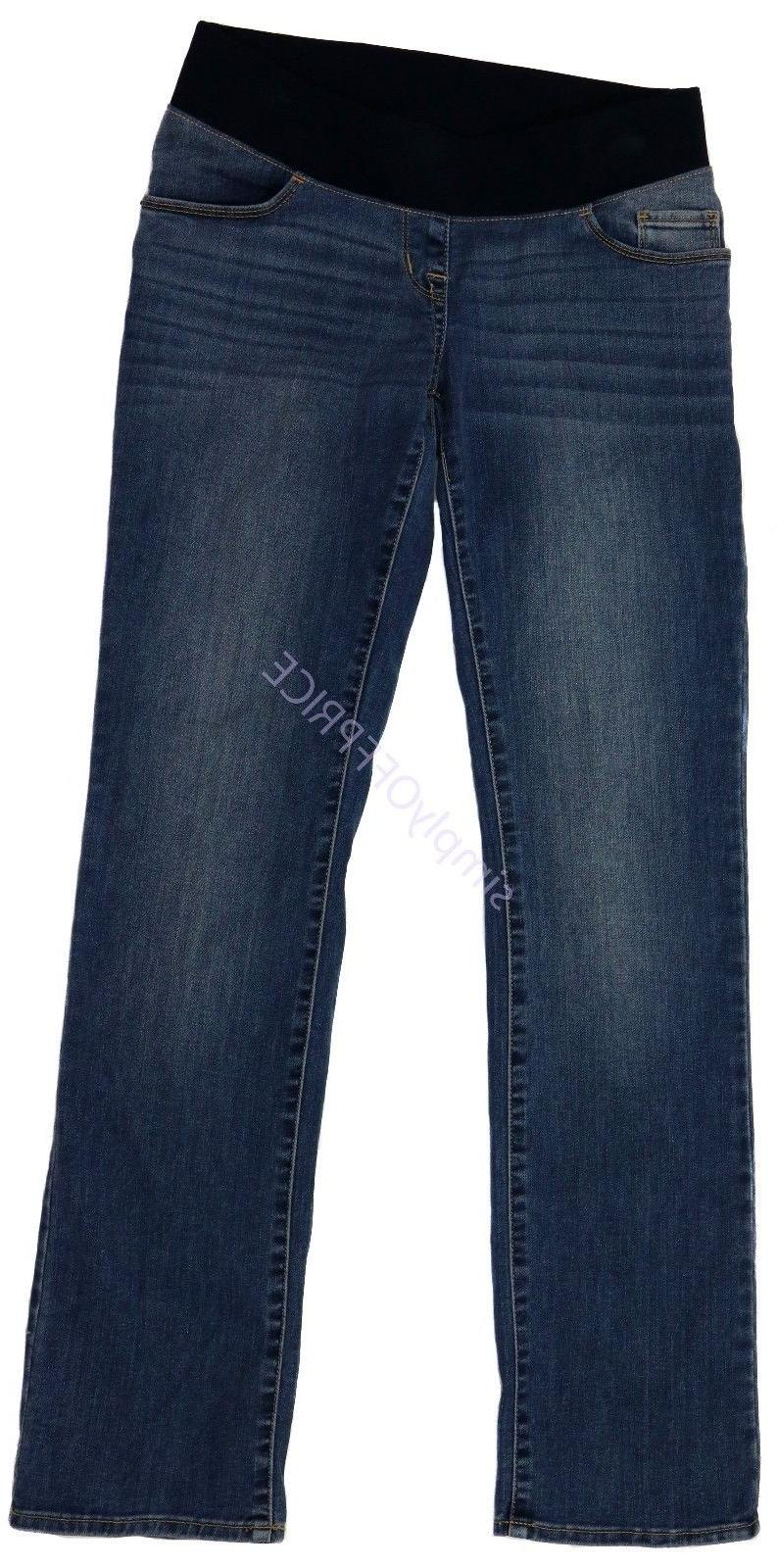 new womens maternity denim jeans under belly