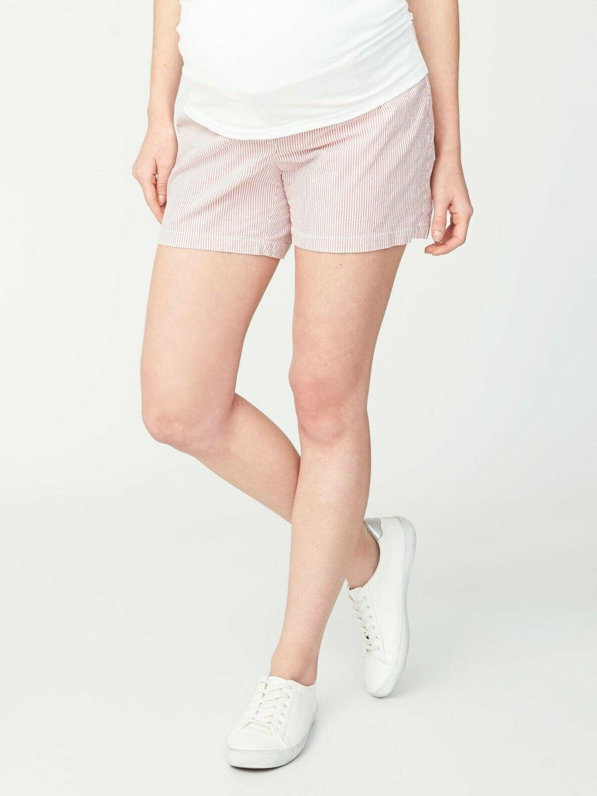nwt sold out 5 inseam maternity side
