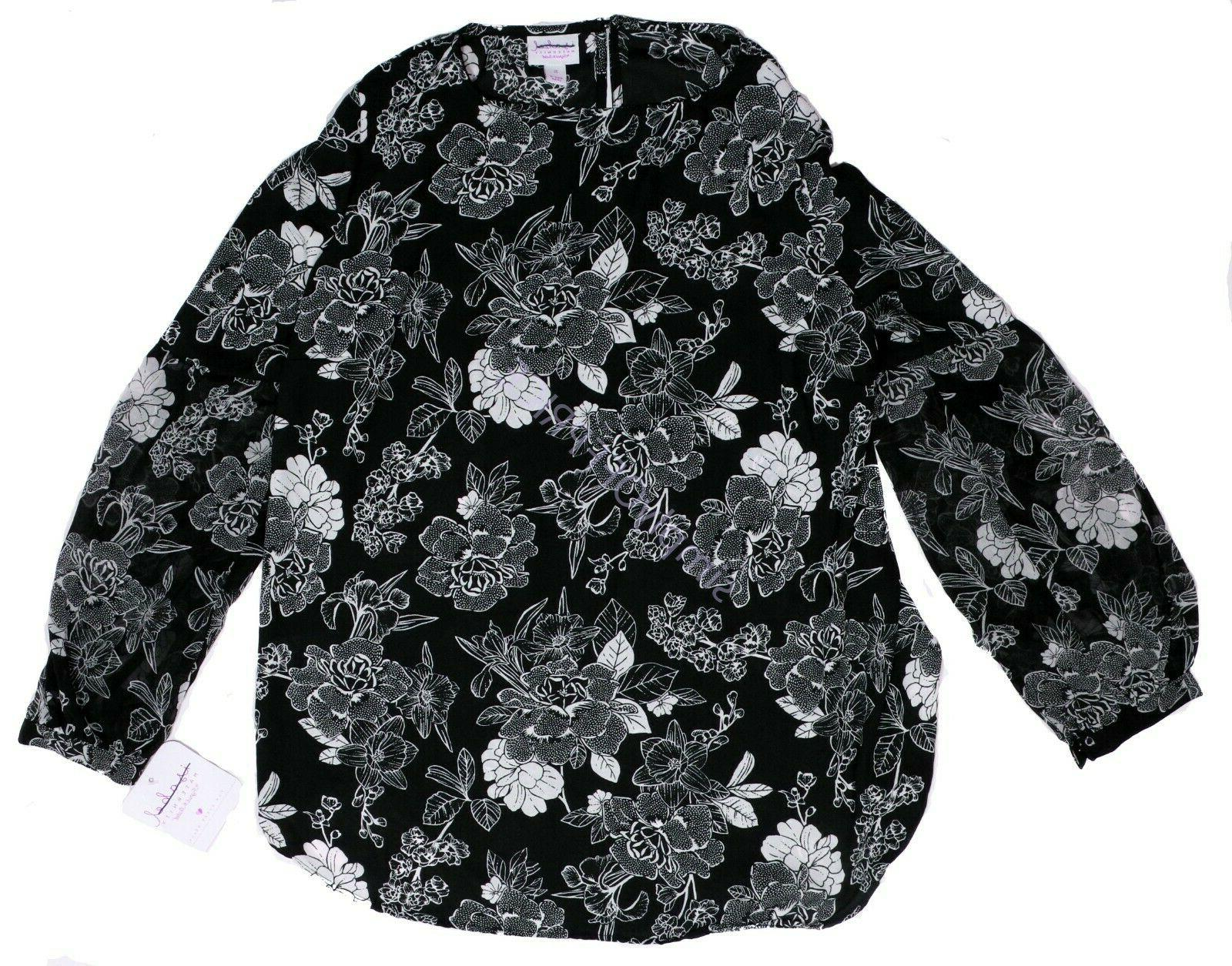 nwt womens maternity clothes black floral print