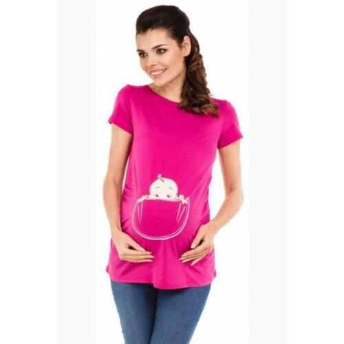 Pregnant Women Nursing Blouse T-Shirt