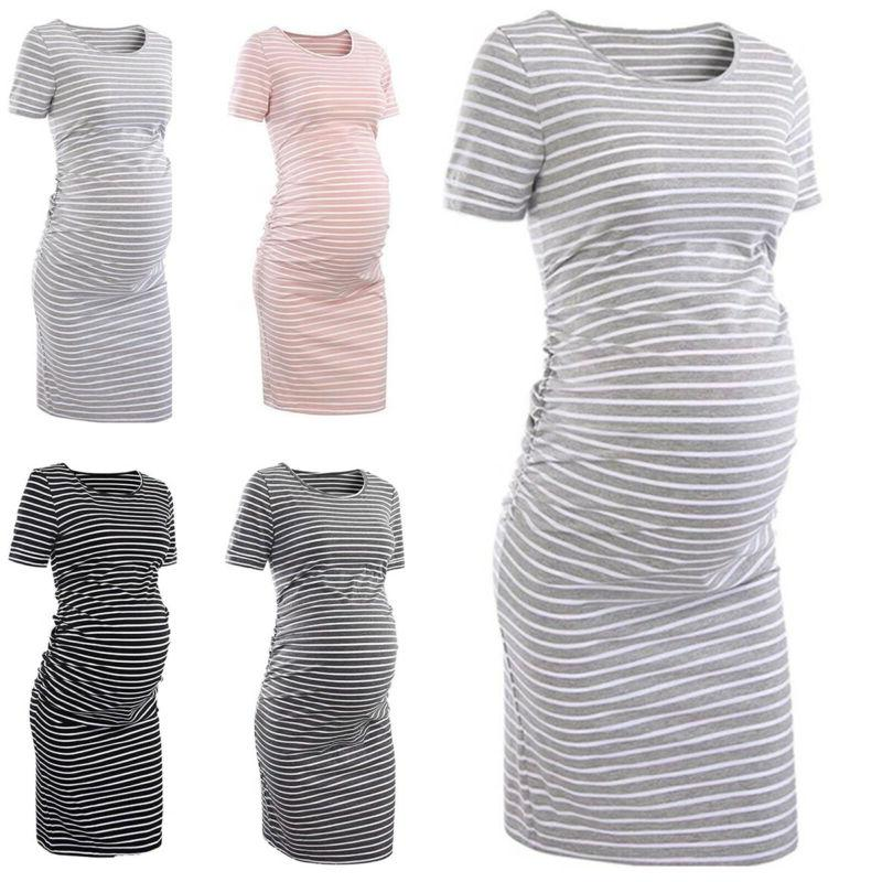 Pregnant Womens Summer Midi Maternity