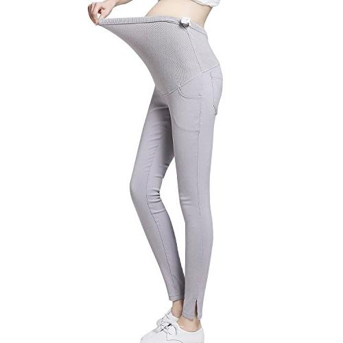 pregnant work pants stretchy maternity