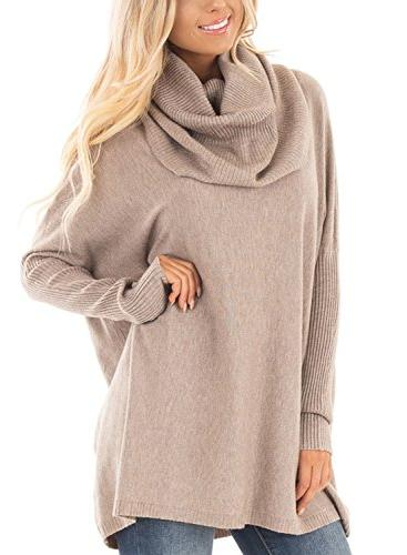 pullover oversized solid warm maternity