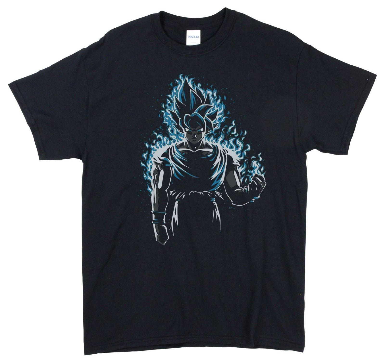 men s dragonball z t shirt blue