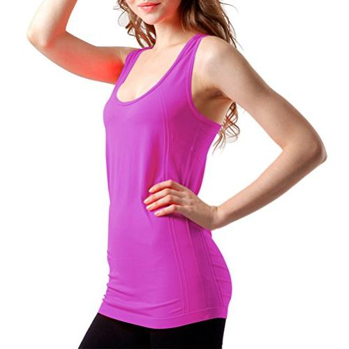 BollyQueena Top Racerback, Top Workout Clothes Packs Multicoloured L