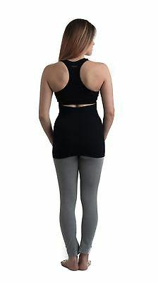 Belevation Targeted Belly Band Black New